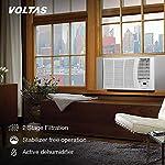 Voltas 1.4 Ton 3 Star Fixed Speed Window AC (Copper, 2021 173 DZA, White), regular