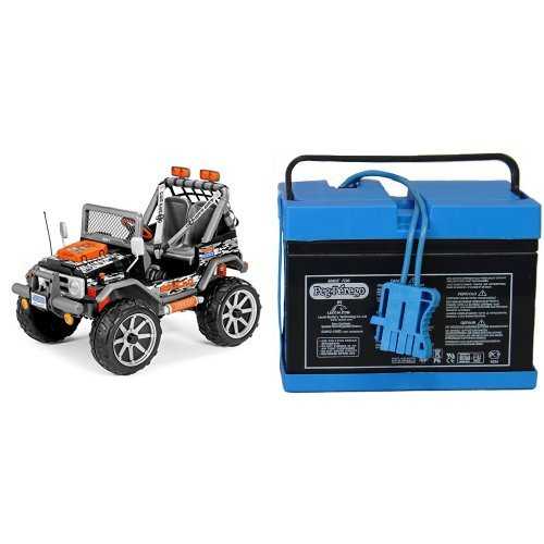Peg Perego Gaucho Jeep Battery : Peg perego gaucho rock in ride on black with volt