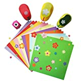 qiaoniuniu Crafts paper punches Personalized paper cutters Shapes Set - For Scrapbook Engraving Kids Artwork diy cards making