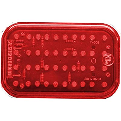 Kaper II L15-0087R Red LED Stop/Turn/Tail Light: Automotive