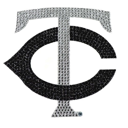 (MLB Minnesota Twins Bling Emblem, One Size, One Color)