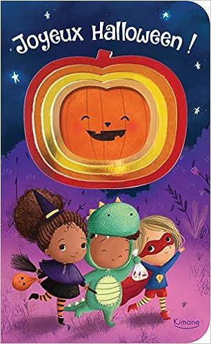Joyeux Halloween Mon Joli Livre Scintillant