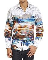 Robert Graham Ghost Towns Sport Shirt