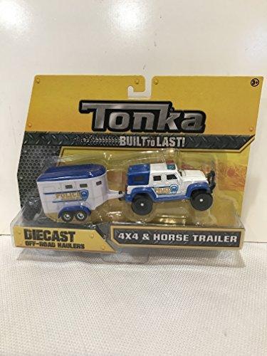 Tonka Diecast Police Mounted Unit (Tonka Trucks And Trailers)