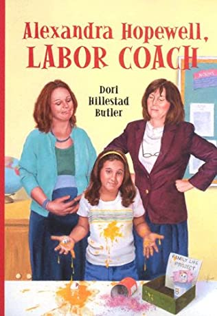 book cover of Alexandra Hopewell, Labor Coach