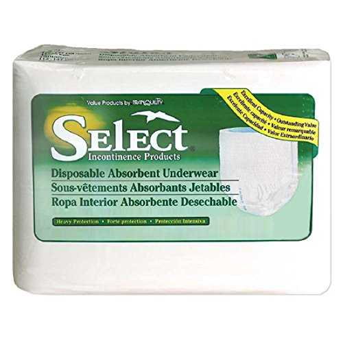 Select Protective Pull-Up Underwear, 2XL-Plus - 1/Case of 48