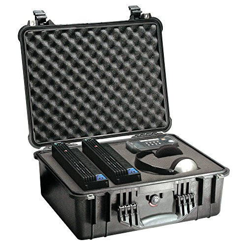 1550 Hard Case Black With Foam 18.43x14x7.62 Pick N Pluck Foam (Pelican Case 1550 Orange)