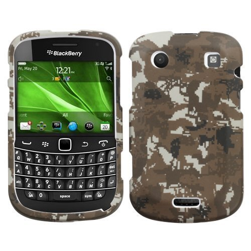 Lizzo Digital Camo/Yellow Phone Protector Faceplate Cover For RIM BLACKBERRY 9900(Bold), 9930(Bold) (Yellow Blackberry Faceplates)