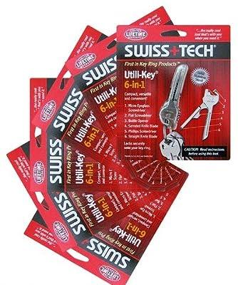 Swiss+Tech UKCSB-1 Utili-Key, 6-Pack