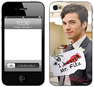 Zing Revolution Pretty Little Liars Premium Vinyl Adhesive Skin for iPhone 4/4S, Mr. Fitz (MS-PLL90133)
