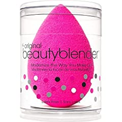 The makeup sponge with a unique edgeless shape and exclusive material available only with beautyblender ensures impeccable, streak-free application with minimum product waste. Use with foundations, powders and any other complexion product. Wh...
