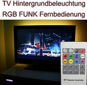 Delloptoelectronics - Kit de retroiluminación LED para televisores (led RGB, para televisores de 40 a 42 pulgadas, con mando a distancia): Amazon.es: Electrónica