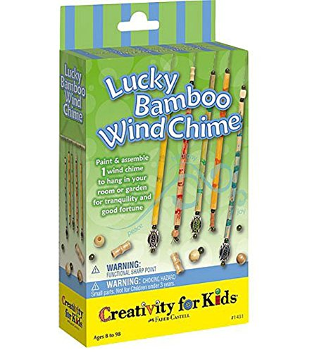 Creativity For Kids Mini Kit Lucky Bamboo Wind Chimes