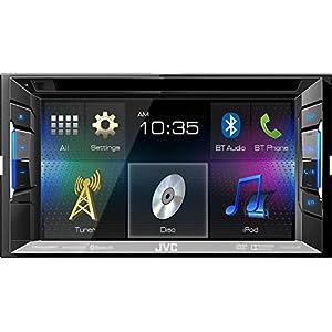 "JVC KW-V21BT 6.2"" CD MP3 DVD IPOD USB PANDORA BLUETOOTH STEREO (Certified Refurbished)"