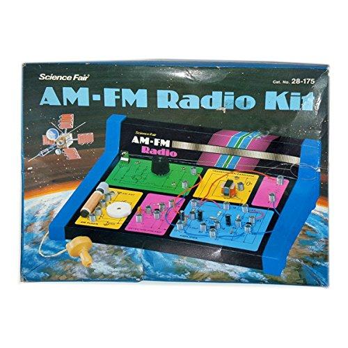 Vintage 1970's Radio Shack Science Fair AM-FM Radio Kit No 28-175