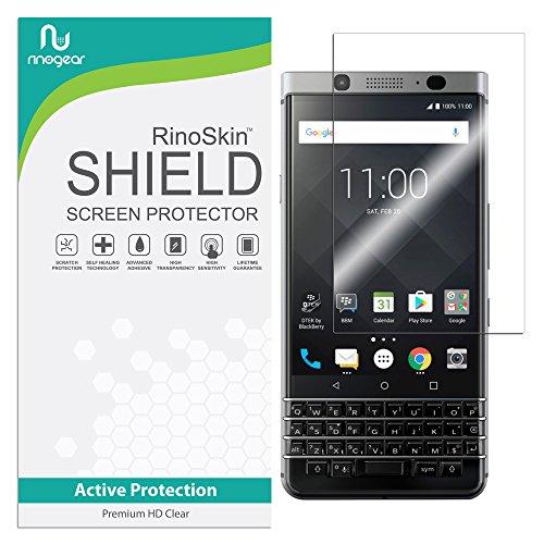 RinoGear BlackBerry KEYone Screen Protector Case Friendly Screen Protector for BlackBerry KEYone Accessory Full Coverage Clear Film