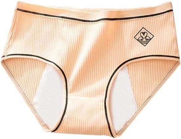 HAODEE Bragas Mujer Algodon Pack Bragas Mujer Bragas sin Costuras para Mujer Shorts Mujer Pantalones de Las señoras de la Ropa Interior Braguita Hipster Apricot,XL: Amazon.es: Hogar