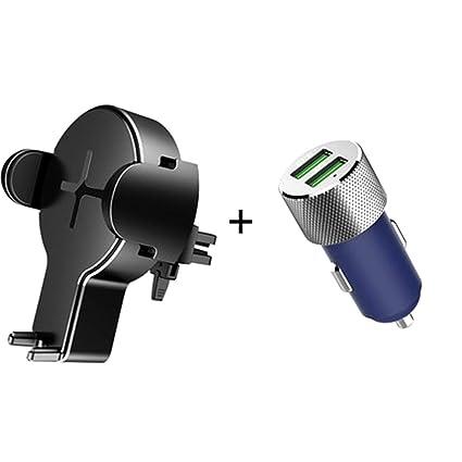 Soporte inalámbrico para coche, soporte móvil, soporte de ...
