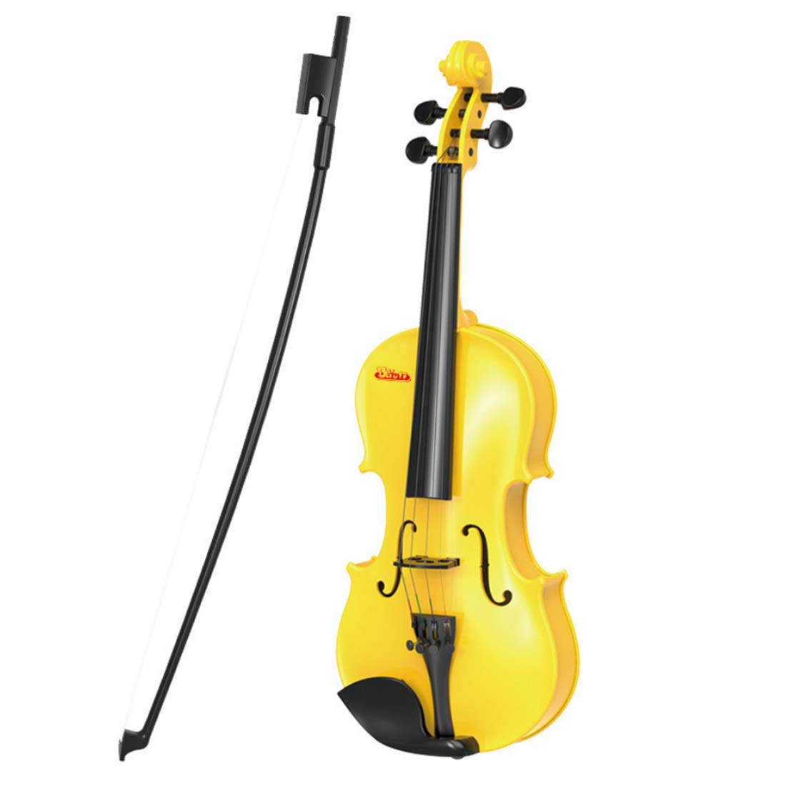 RuiyiF Toy Violin for Kids Beginners Ages 5-9, Play Violin for Kids Musical Toys for Toddlers 18 Inch(Yellow) by RuiyiF