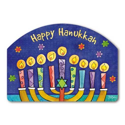 Yard Design Happy Hanukkah Yard Sign 74855
