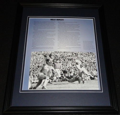 Wally Triplett Framed 11x14 Photo Display Penn State Nittany Lions