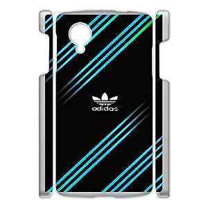 Adidas Logo For Google Nexus 5 Custom Cell Phone Case Cover 99UI961310