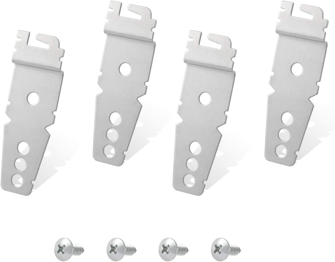 Lenink 8269145 Undercounter Dishwasher Replacement Mounting Bracket Kit Compatible with Whirlpool Kenmore Kitchenaid Dishwasher,Compare to 8269145/WP8269145