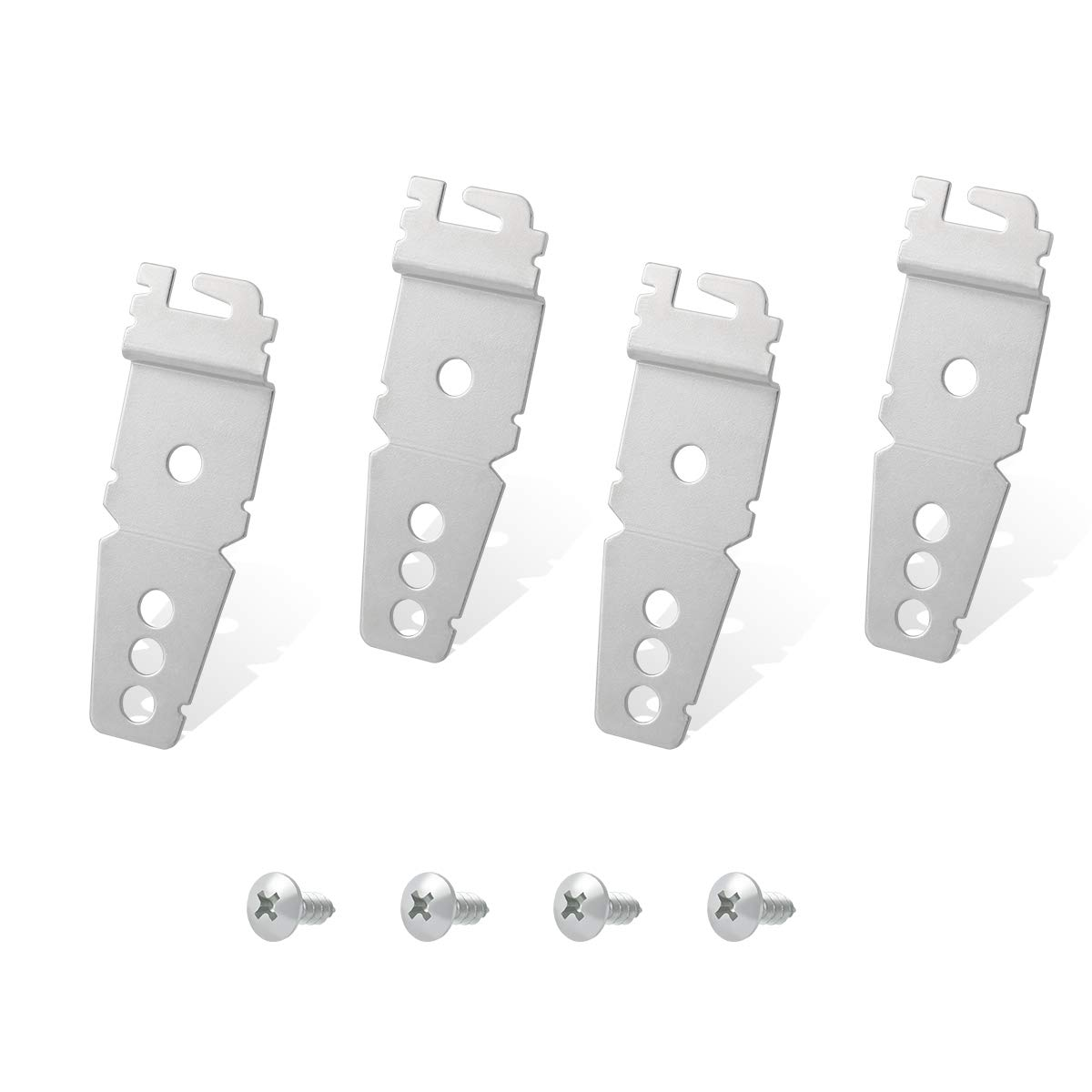Lenink 8269145 Undercounter Dishwasher Replacement Mounting Bracket Kit Compatible with Whirlpool Kenmore Kitchenaid Dishwasher,Compare to 8269145/WP8269145 51XYKZxOtYL