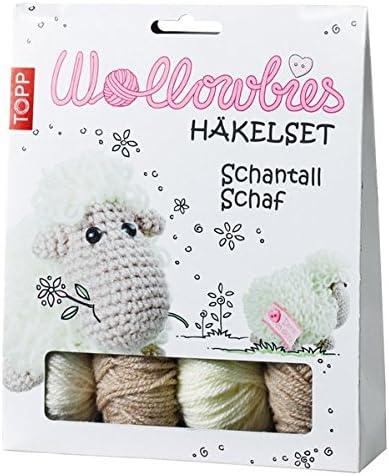 Wollowbies Hakelset Schantall Schaf Anleitung Steckbrief Und