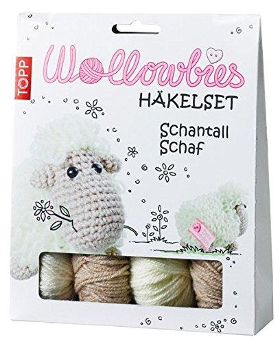 Wollowbies Häkelset Schantall Schaf: Anleitung, Steckbrief und Material für ein niedliches Schaf