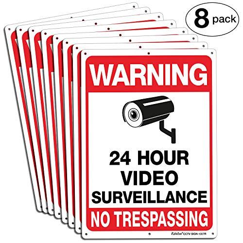 Faittoo Surveillance Trespassing Reflective CCTV product image