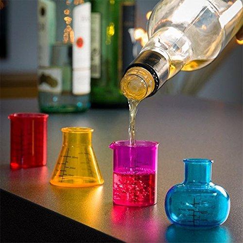 stile laboratorio chimico Bicchieri da shot