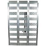"Highland (1127200) 69"" Aluminum Smooth Rung Tri-Fold Loading Ramp - 1 unit"