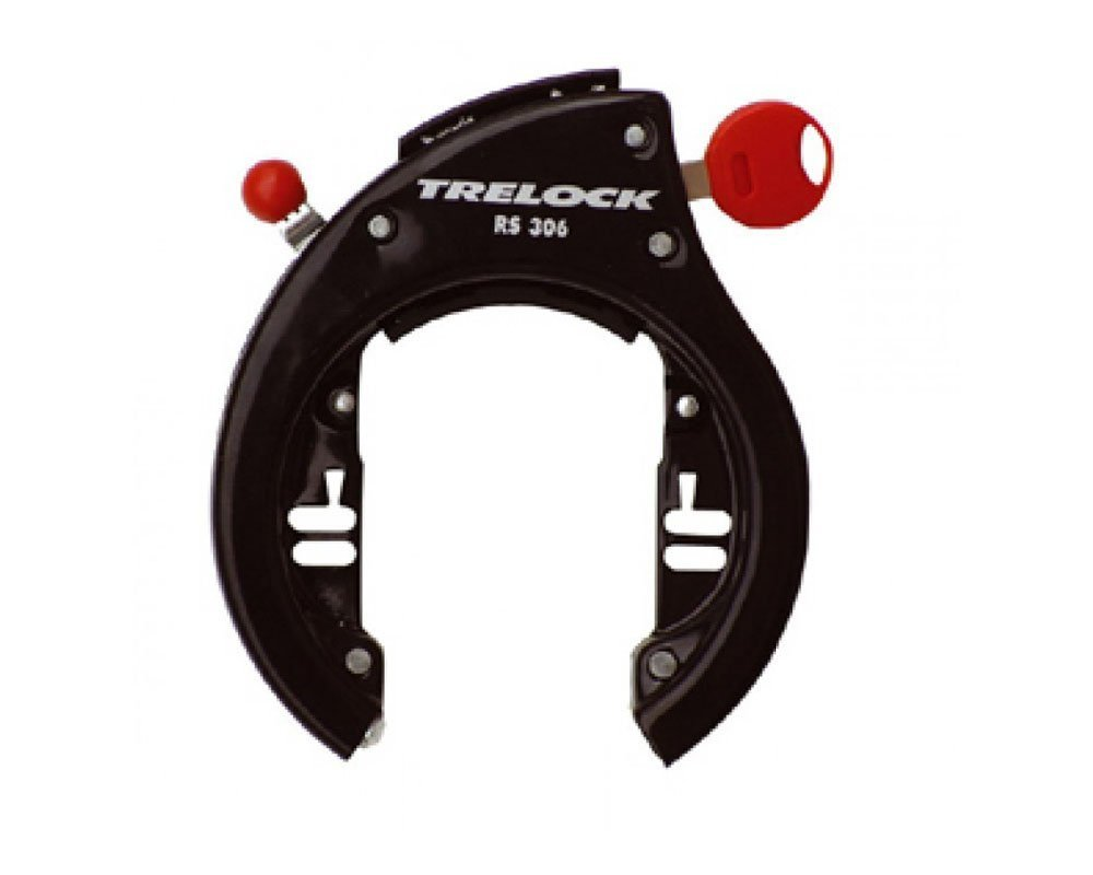 TRELOCK Rahmenschloss RS 306 AZ 9 mm,schwarz