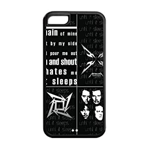 Special Designer American Heavy Metal Metallica Silicon iPhone 5C Case, Snap on Protective Metallica iPhone 5C Case
