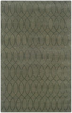 Linon Ashton Collection Natural Fiber Rugs, 8 x 11 , Seaglass