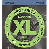 D'Addario EPS165 ProSteels Bass Guitar Strings, Custom Light, 45-105, Long Scale