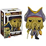 Funko Davy Jones: Pirates of The Caribbean - Dead Men Tell No Tales x POP! Disney Vinyl Figure & 1 POP! Compatible PET Plastic Graphical Protector Bundle [#174 / 07109 - B]