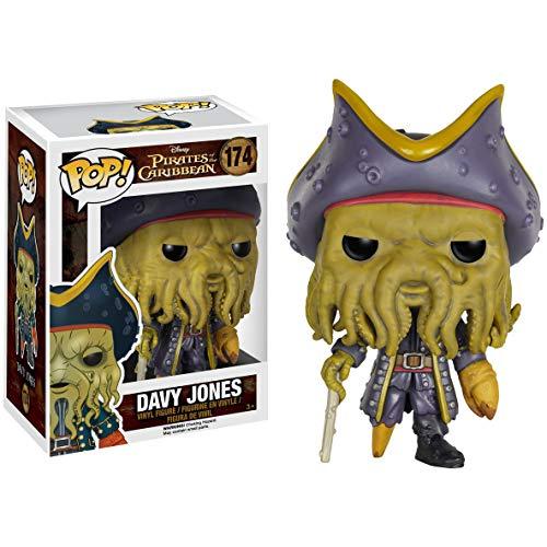 Funko Davy Jones: Pirates of The Caribbean - Dead Men Tell No Tales x POP! Disney Vinyl Figure & 1 POP! Compatible PET Plastic Graphical Protector Bundle [#174 / 07109 - B]]()