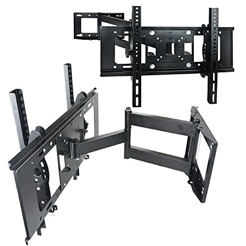 FULL MOTION TILT & SWIVEL LED LCD TV WALL MOUNT BRACKET 32 46 47 50 55 60 INCH