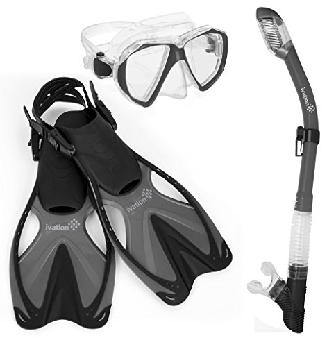 Adult Diving Gear Snorkel Adjustable