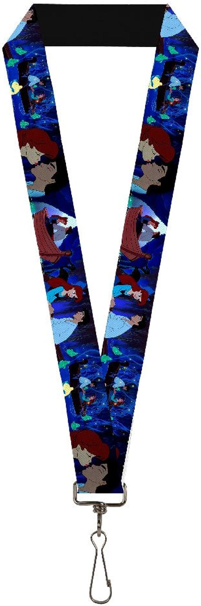 Arielle Disney Sneaker Socks Under The Sea 5 Pares de Elbenwald