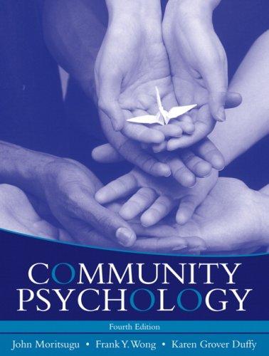 Community Psychology (4th Edition)