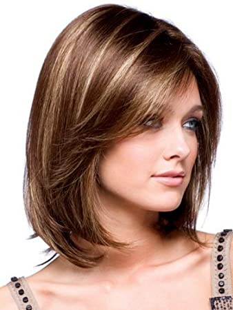 Amazon Com Bestung Synthetic Medium Brown Mix Blonde