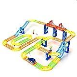 WONDAY Race Track Flexible Race Car Track Rail Car 169Pcs Railway Train Set Kids DIY Car Set Toddler Toys for Boy Girl Kids Child Children (169Pcs)