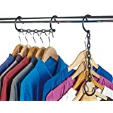 Deluxe Space Saving Garment, Clothes Hangers | Hang 5 Garments in the Space of One by Klife