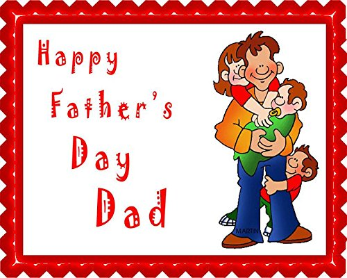 Fathers-Day-1-Edible-Cake-Topper-75-x-10-14-sheet-rectangular