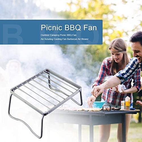 SNOWINSPRING en Plein Air en Acier Inoxydable Portable Pliant Barbecue Grill Jardin Rack Outils de Cuisine LéGers