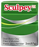 Sculpey III Polymer Clay 2 Ounces-Leaf Green