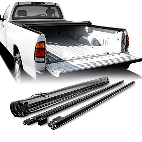 - Fits 2000-2006 Toyota Tundra Pickup Truck 6.5 Feet 78 Inches Bed Soft Roll Up Black Tonneau Cover Replacement &Hardware